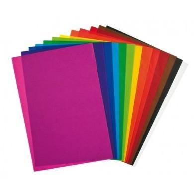 Carta velina colorata confezione da 5 fogli cicerone for Carta da parati colorata