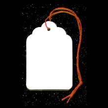 etichette con filo